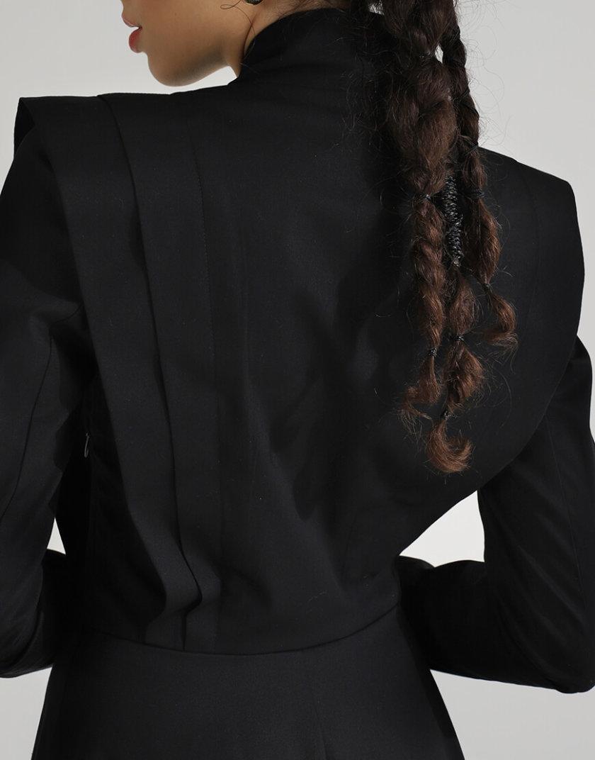 Геометрическое платье из хлопка BL_PL-19-085, фото 1 - в интеренет магазине KAPSULA