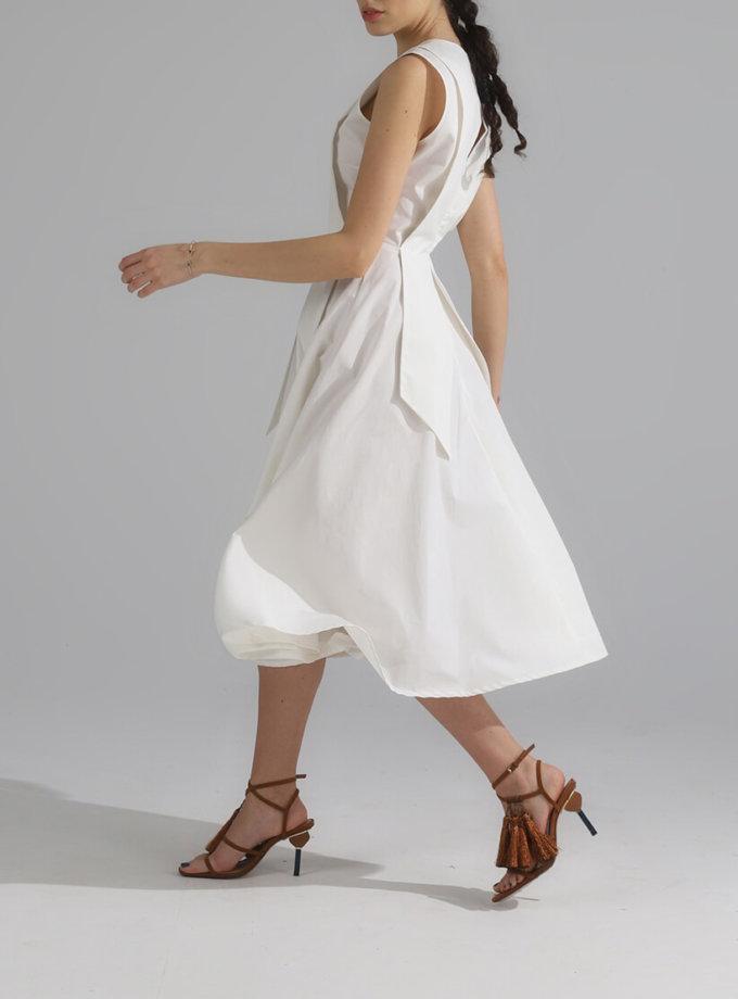 Платье миди из хлопка BL_PL-20-010, фото 1 - в интернет магазине KAPSULA