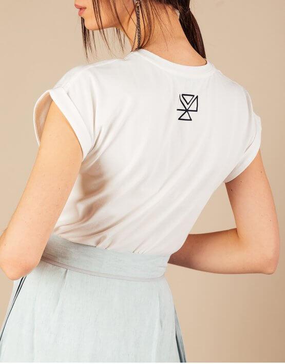 Футболка из хлопка MMT_T-shirt_white, фото 6 - в интеренет магазине KAPSULA