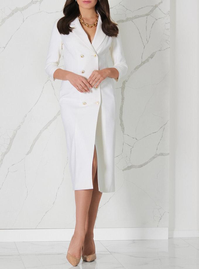 Платье-жакет из шерсти SOL_SSS2020D06, фото 1 - в интеренет магазине KAPSULA