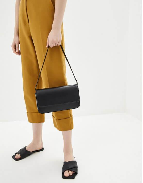 Кожаная сумка с цепями IRRO_IR_SS20_LB_021, фото 5 - в интеренет магазине KAPSULA