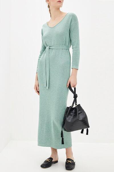 Платье миди с поясом KNIT_MP002XW0S95M, фото 7 - в интеренет магазине KAPSULA