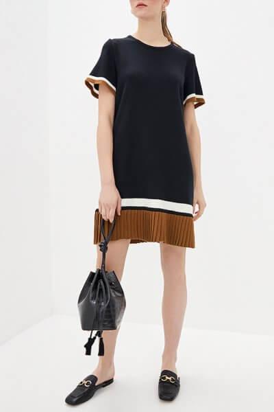 Платье мини из хлопка KNIT_MP002XW0S95P, фото 1 - в интеренет магазине KAPSULA