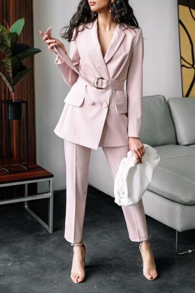 Хлопковый костюм Rosie в полоску MC_MY1020, фото 1 - в интеренет магазине KAPSULA