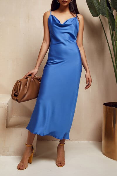 Платье на тонких бретелях Eva MC_MY1220, фото 1 - в интеренет магазине KAPSULA