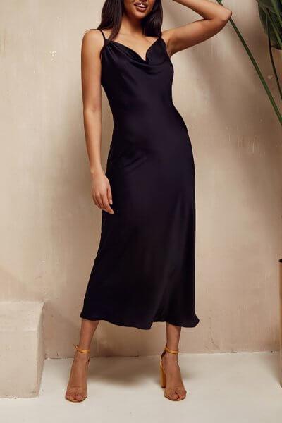 Платье на тонких бретелях Eva MC_MY1320, фото 1 - в интеренет магазине KAPSULA