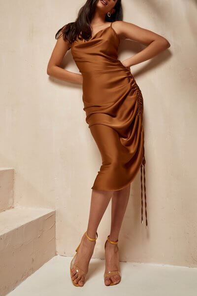 Платье на кулиске Muse MC_MY1620, фото 1 - в интеренет магазине KAPSULA