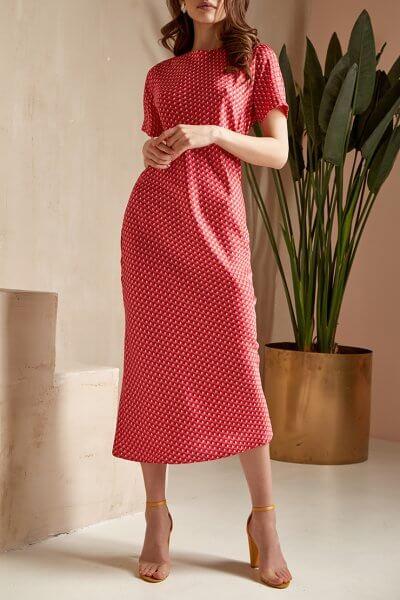 Платье миди Audrey MC_MY2220, фото 1 - в интеренет магазине KAPSULA