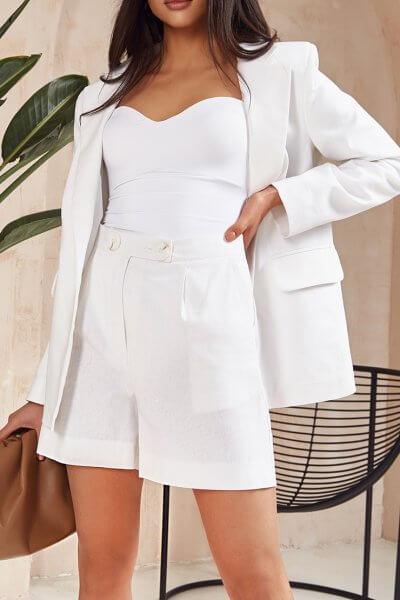 Льняной костюм с шортами MC_MY3220, фото 1 - в интеренет магазине KAPSULA