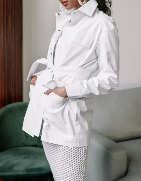 Куртка из эко-кожи Zain MC_MY3430, фото 3 - в интеренет магазине KAPSULA