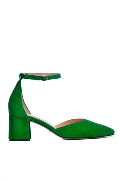 Замшевые туфли на каблуке MDVV_718711, фото 1 - в интеренет магазине KAPSULA
