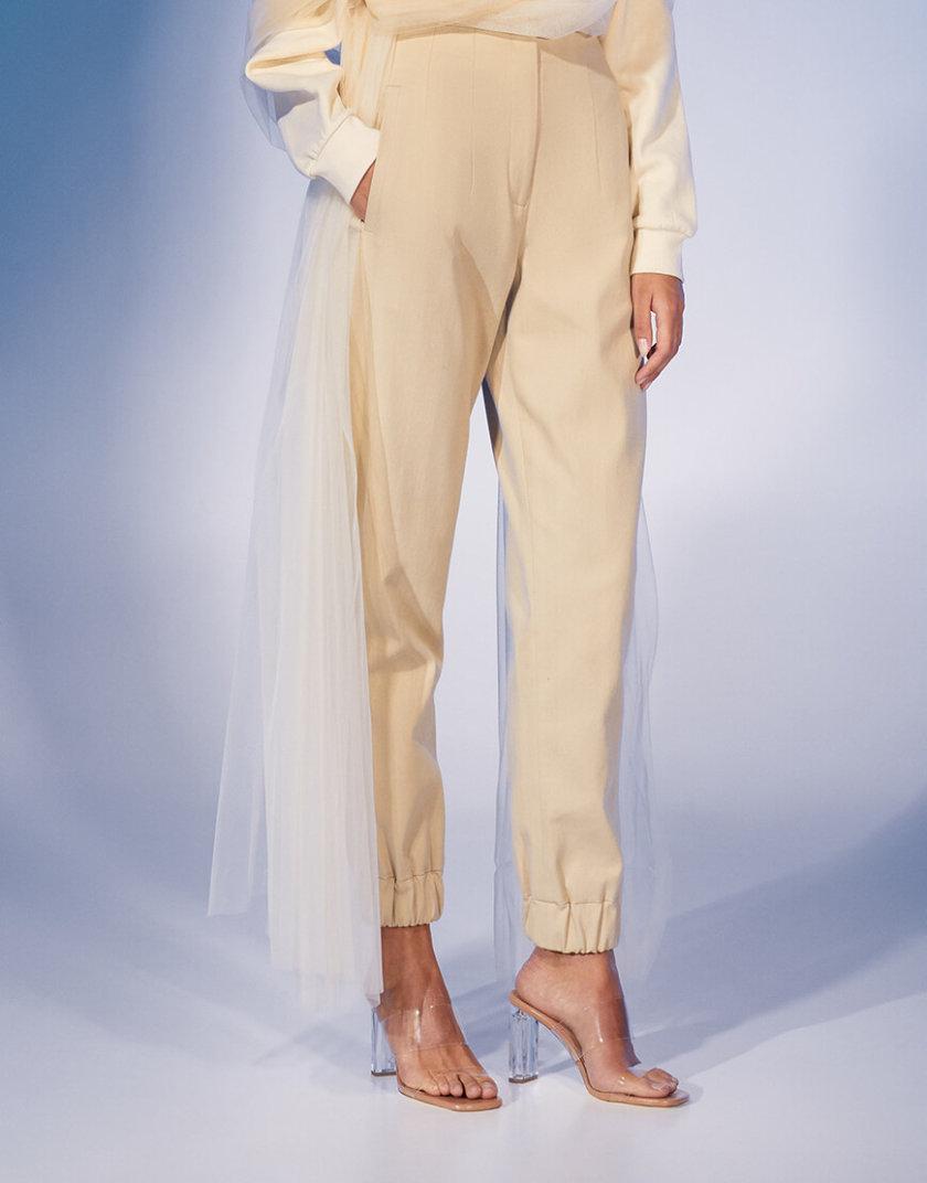 Прямые брюки из хлопка на манжетах MF-FW2021-10, фото 1 - в интеренет магазине KAPSULA