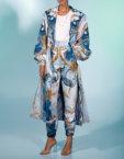 Прямые брюки из шерсти со складками MF-FW2021-3, фото 2 - в интеренет магазине KAPSULA