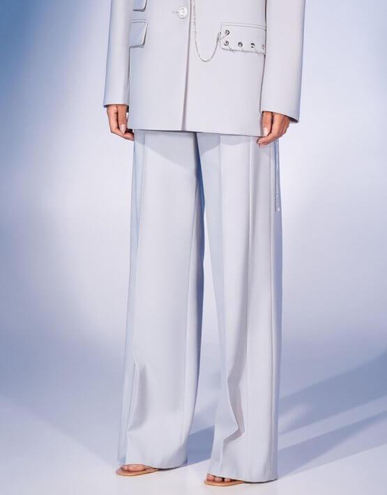 Прямые брюки из шерсти MF-FW2021-31, фото 2 - в интеренет магазине KAPSULA
