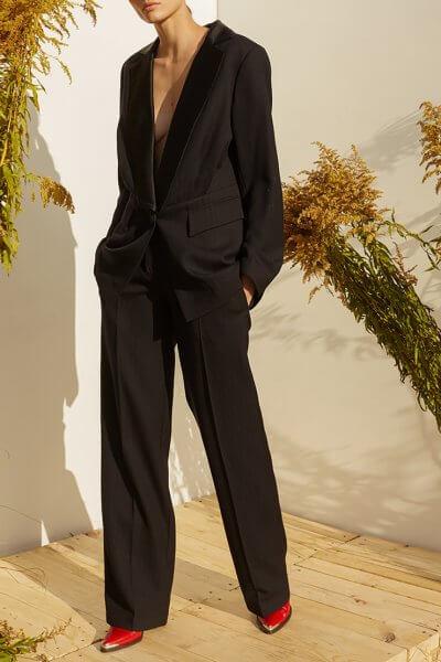 Прямые брюки из шерсти MF-SS20-11, фото 1 - в интеренет магазине KAPSULA