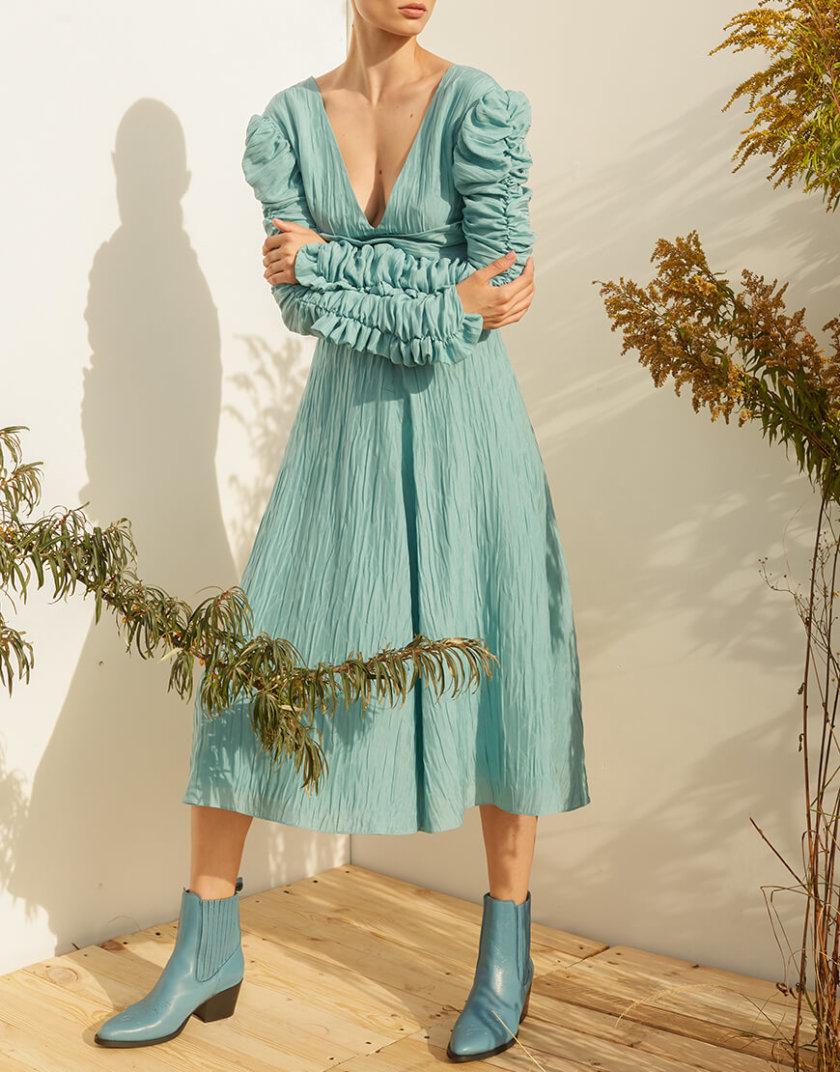 Платье миди из шелка MF-SS20-16, фото 1 - в интернет магазине KAPSULA