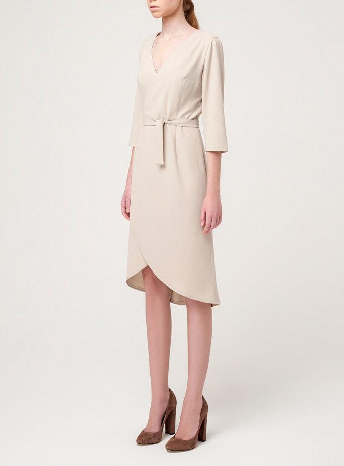 Платье на запах MIN_ss1612, фото 1 - в интеренет магазине KAPSULA