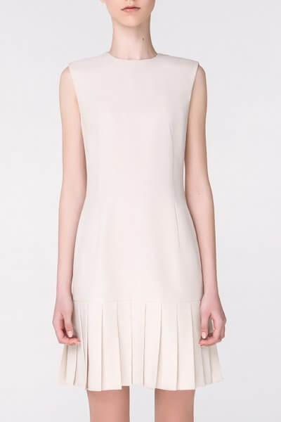 Платье с юбкой-плиссе MIN_ss1805, фото 1 - в интеренет магазине KAPSULA