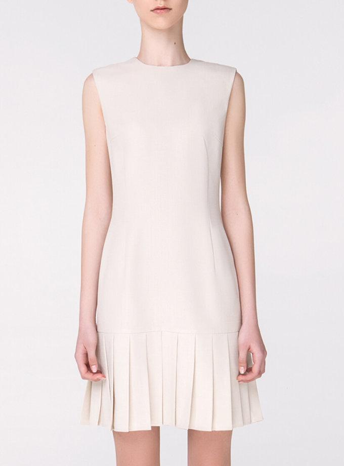 Платье с юбкой-плиссе MIN_ss1805, фото 1 - в интернет магазине KAPSULA