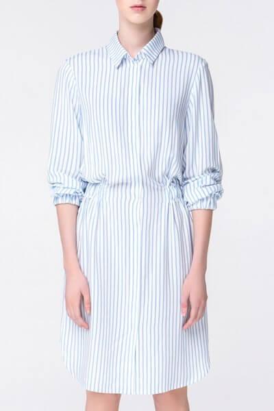 Платье-рубашка в полоску MIN_ss1806, фото 1 - в интеренет магазине KAPSULA