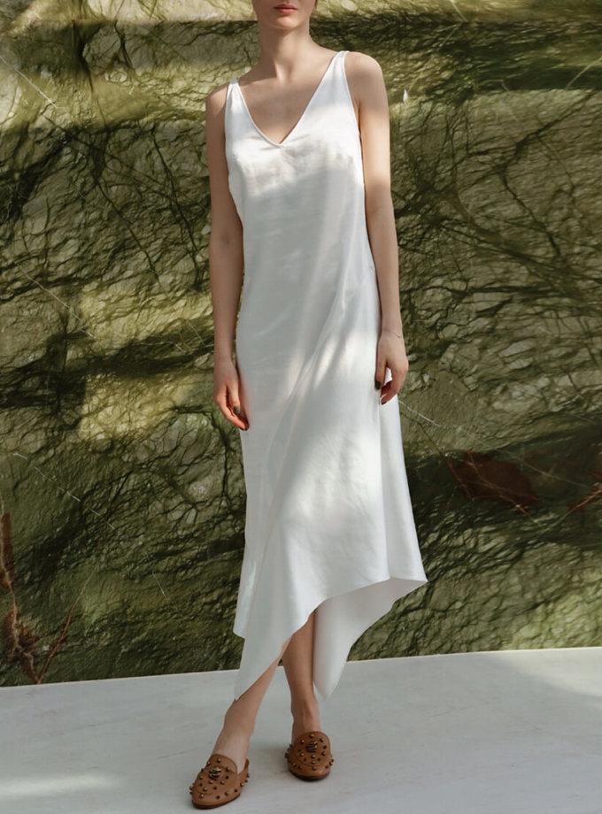 Асимметричное платье миди NVL_SS2020_2, фото 1 - в интеренет магазине KAPSULA