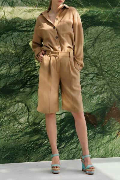 Костюм с шортами и рубашкой NVL_SS2020_3, фото 1 - в интеренет магазине KAPSULA