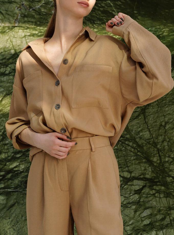 Рубашка oversize с карманами NVL_SS2020_4, фото 1 - в интеренет магазине KAPSULA