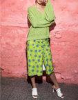 Юбка в принт на пуговицах SAYYA_SS1006-1, фото 3 - в интеренет магазине KAPSULA