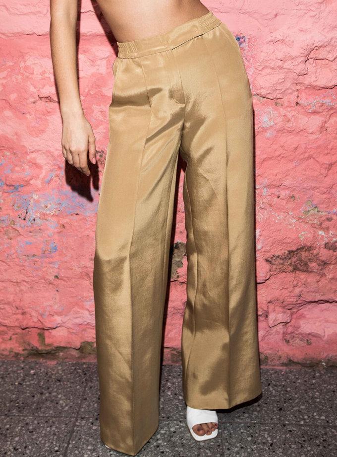 Широкие брюки из шелка SAYYA_SS1010, фото 1 - в интернет магазине KAPSULA
