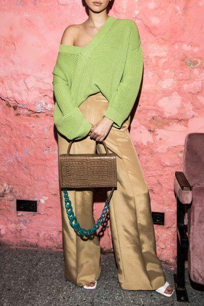 Широкие брюки из шелка SAYYA_SS1010, фото 1 - в интеренет магазине KAPSULA