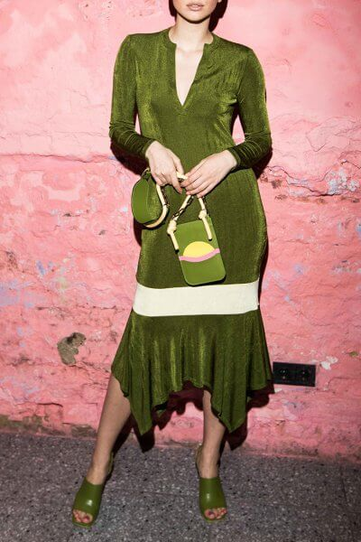 Платье с вырезом и асимметричным низом SAYYA_SS1011, фото 1 - в интеренет магазине KAPSULA