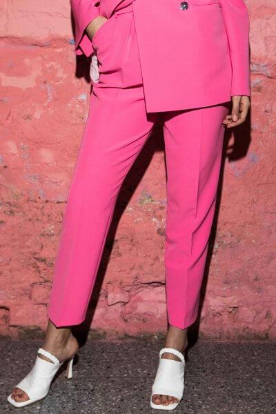 Укороченные брюки на высокой посадке SAYYA_SS1017-1, фото 5 - в интеренет магазине KAPSULA