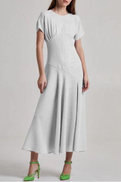 Платье миди из хлопка SAYYA_SS855-1, фото 1 - в интеренет магазине KAPSULA