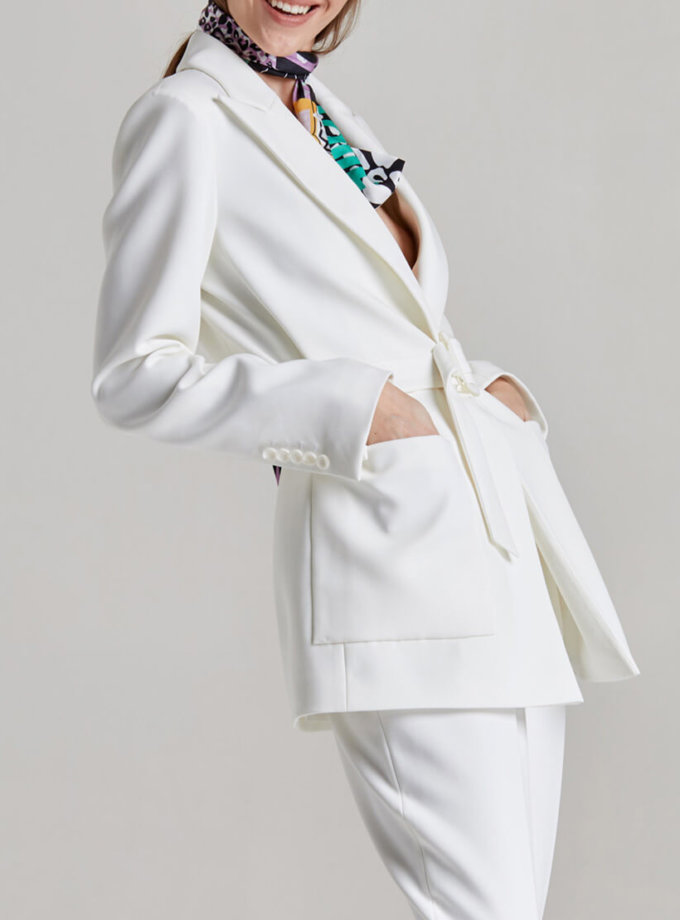 Жакет с накладными карманами SAYYA_SSL892-1, фото 1 - в интеренет магазине KAPSULA
