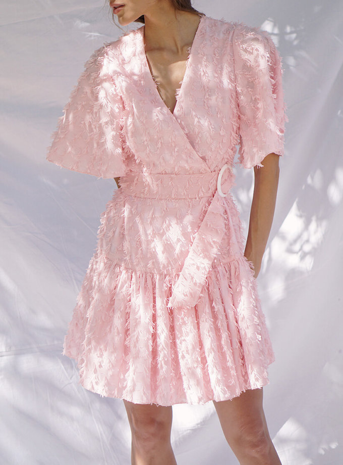 Платье из хлопка на запахе SAYYA_SSL902-2, фото 1 - в интернет магазине KAPSULA