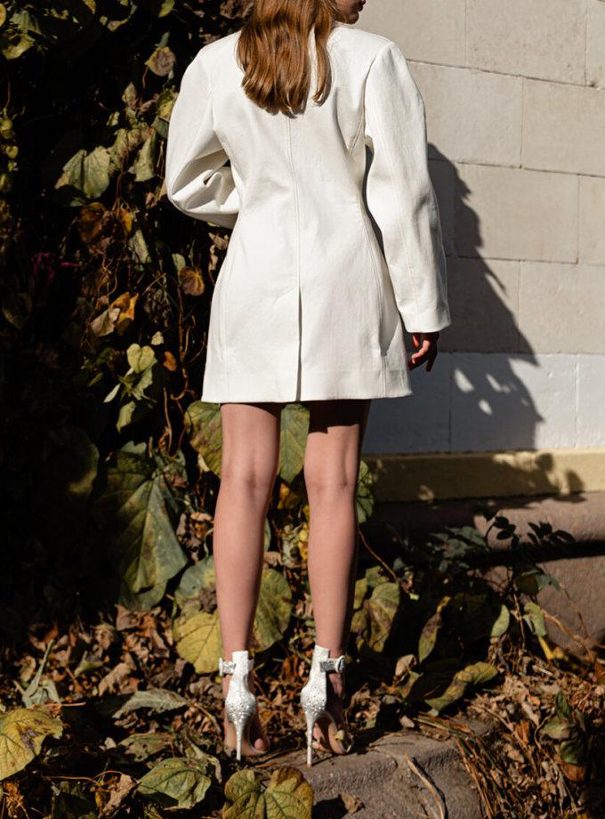 Платье-жакет из хлопка SKR_10124, фото 1 - в интеренет магазине KAPSULA