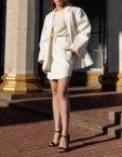 Асимметричная юбка с люрексом SKR_20046, фото 4 - в интеренет магазине KAPSULA