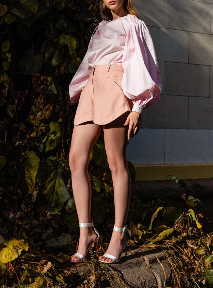 Короткие шорты из хлопка SKR_30052, фото 1 - в интеренет магазине KAPSULA