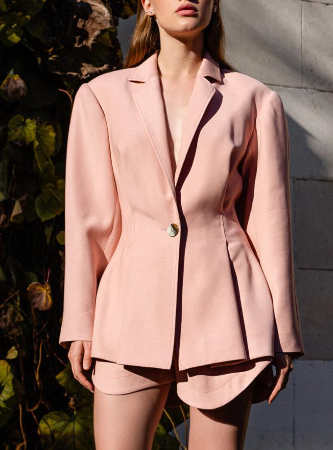Жакет oversize из хлопка SKR_40049, фото 1 - в интеренет магазине KAPSULA