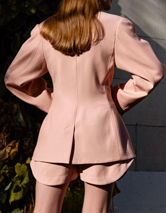 Жакет oversize из хлопка SKR_40049, фото 5 - в интеренет магазине KAPSULA