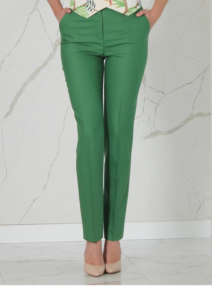 Прямые брюки из шерсти SOL_SSS2020T06, фото 1 - в интеренет магазине KAPSULA