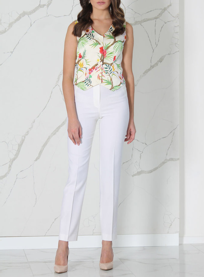 Прямые брюки из шерсти SOL_SSS2020T10, фото 1 - в интеренет магазине KAPSULA