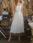 Платье с объемными рукавами TTWH_s-s2004, фото 4 - в интеренет магазине KAPSULA