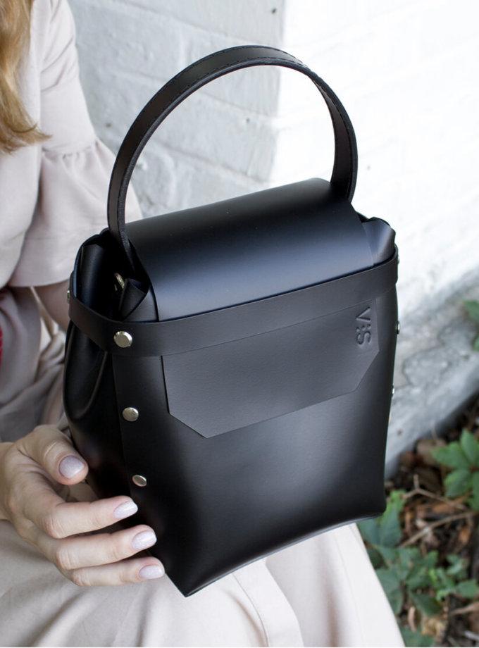 Кожаная сумка Adara VIS_Adara-bag-004, фото 1 - в интеренет магазине KAPSULA