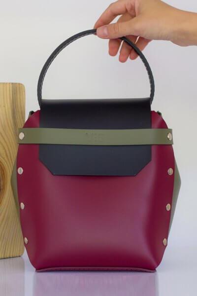 Кожаная сумка Adara VIS_Adara-bag-014, фото 4 - в интеренет магазине KAPSULA