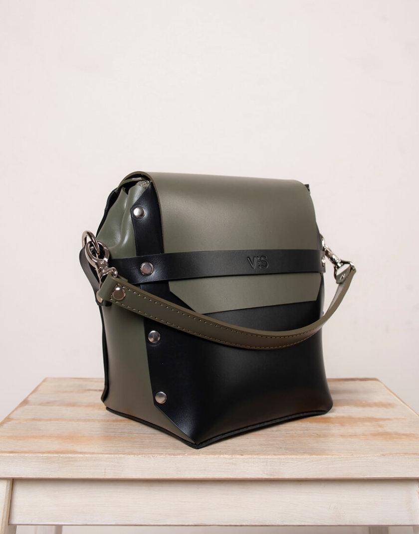 Кожаная сумка на молнии Adara VIS_Adara-zipper-001, фото 1 - в интернет магазине KAPSULA