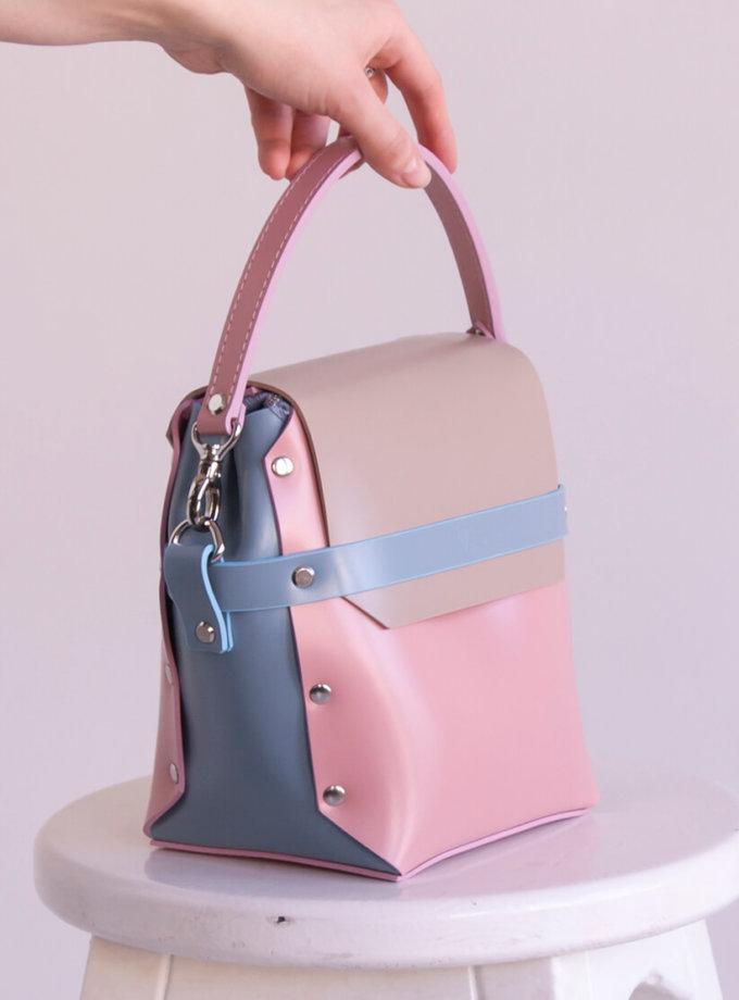 Кожаная сумка на молнии Adara VIS_Adara-zipper-002, фото 1 - в интеренет магазине KAPSULA