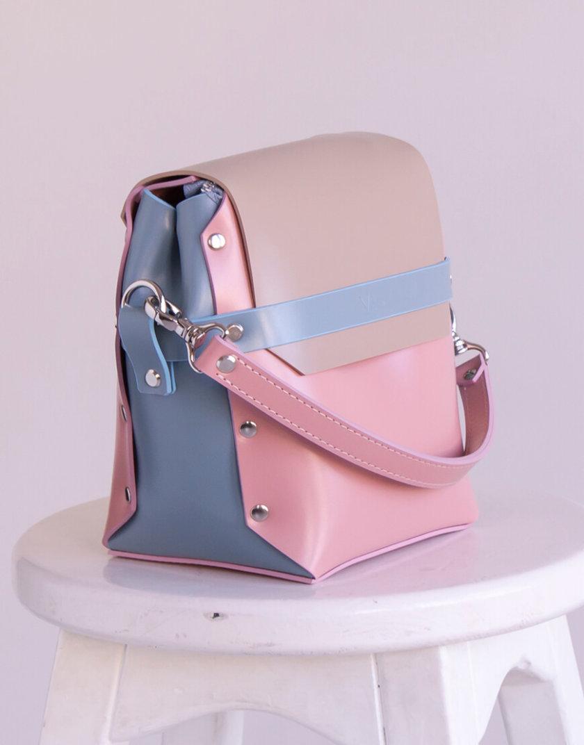 Кожаная сумка на молнии Adara VIS_Adara-zipper-002, фото 1 - в интернет магазине KAPSULA