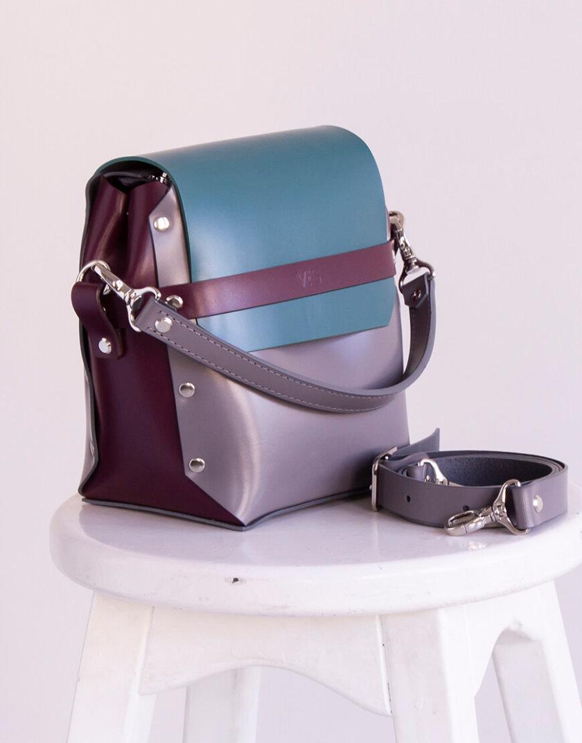 Кожаная сумка на молнии Adara VIS_Adara-zipper-003, фото 1 - в интернет магазине KAPSULA