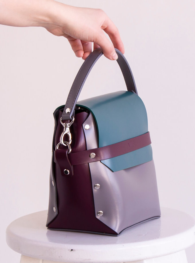 Кожаная сумка на молнии Adara VIS_Adara-zipper-003, фото 1 - в интеренет магазине KAPSULA
